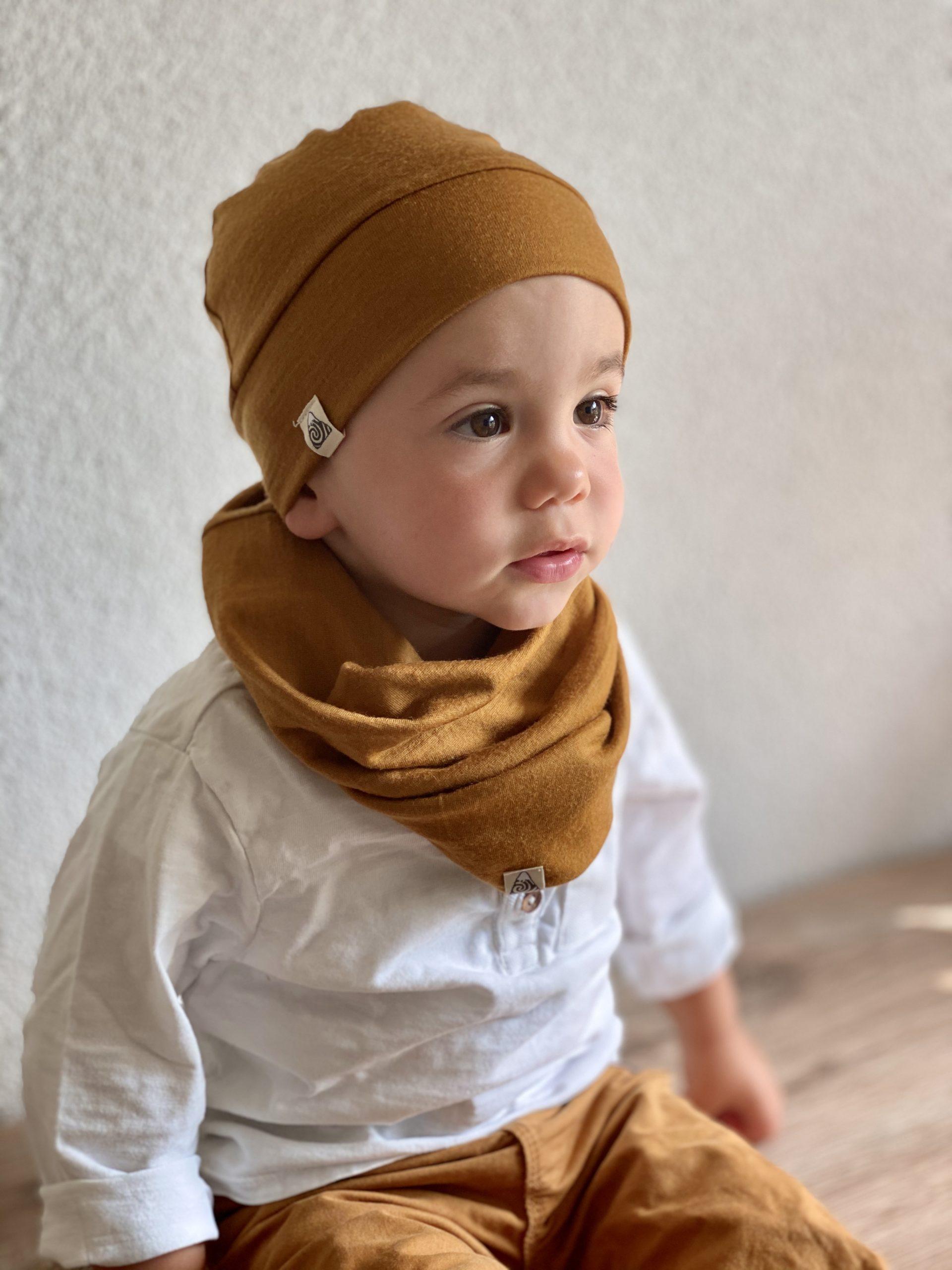 Bonnet et snood enfant