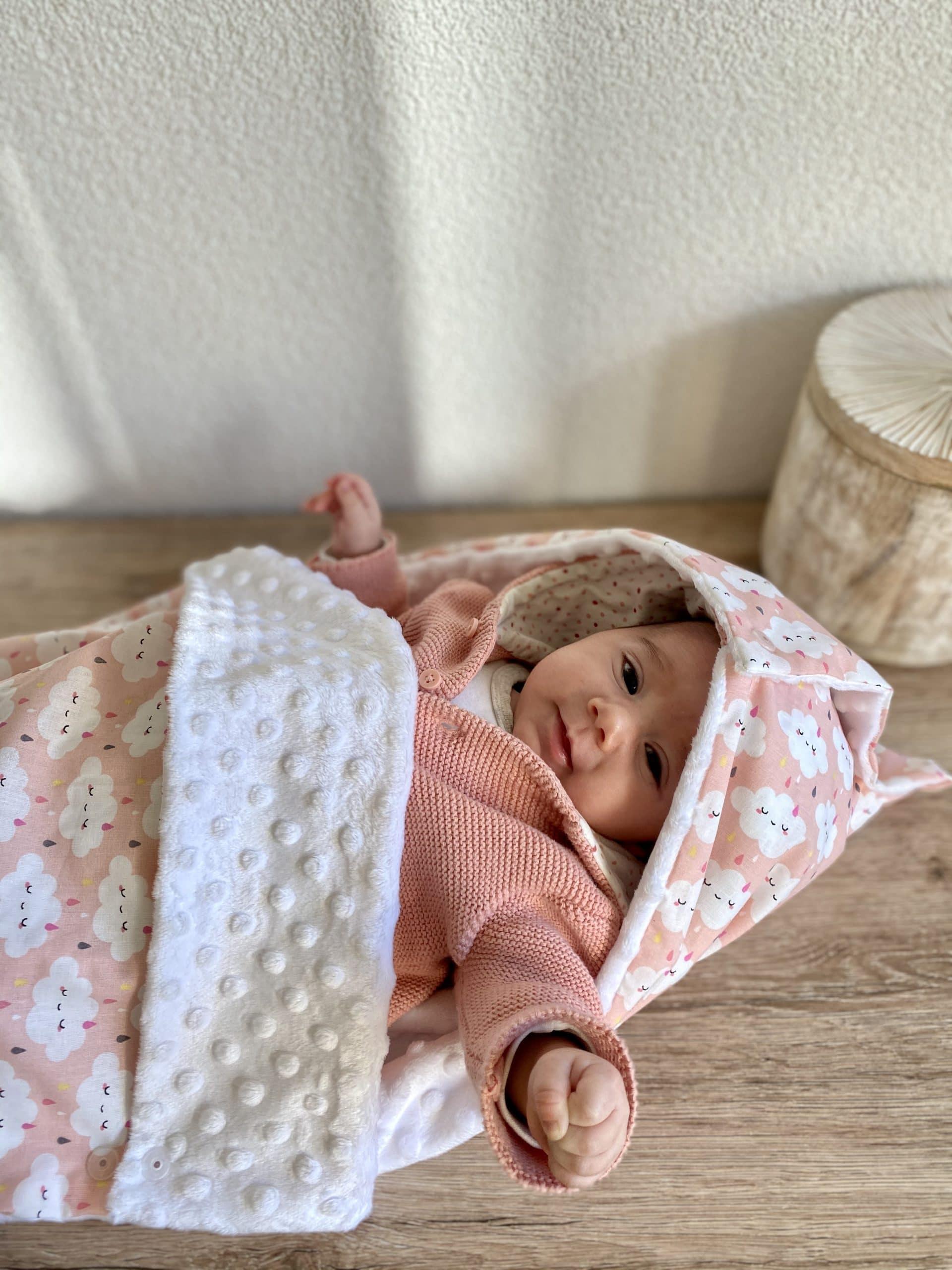 Nid d'ange pour bébé au chaud